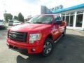 Race Red 2012 Ford F150 STX SuperCab 4x4