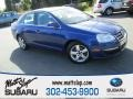 Laser Blue Metallic 2008 Volkswagen Jetta SE Sedan