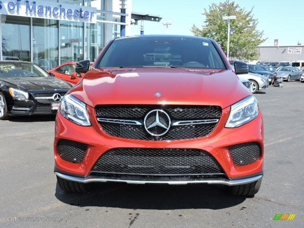 2016 designo cardinal red metallic mercedes benz gle 450 for Mercedes benz gle 450 4matic