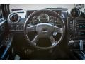 Ebony 2006 Hummer H2 SUV Steering Wheel