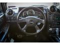 Ebony 2006 Hummer H2 SUV Steering Wheel