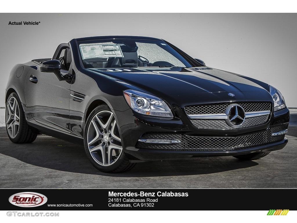 2016 black mercedes benz slk 300 roadster 107379615 for Mercedes benz paint colors