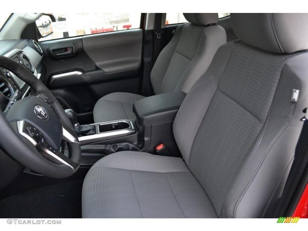 Cement Gray Interior 2016 Toyota Tacoma Sr5 Double Cab 4x4