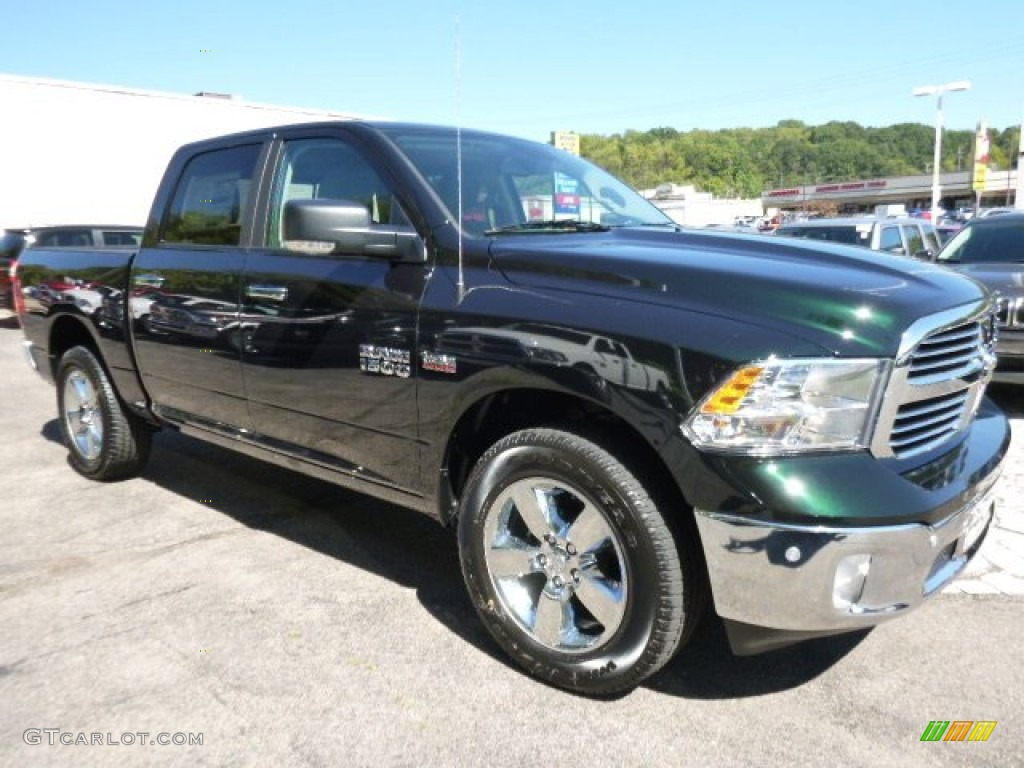 2016 black forest green pearl ram 1500 big horn crew cab 4x4 107380047 photo 8. Black Bedroom Furniture Sets. Home Design Ideas