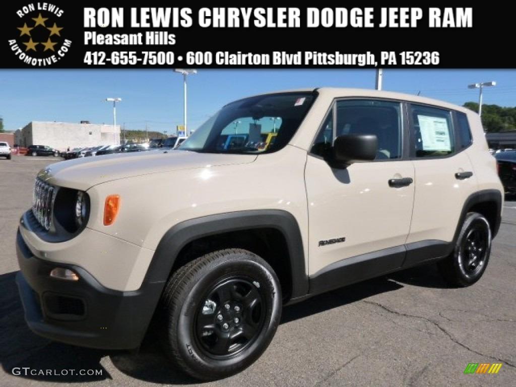2015 Mojave Sand Jeep Renegade Sport #107380036 | GTCarLot ...