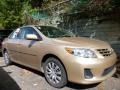Sandy Beach Metallic 2013 Toyota Corolla Gallery