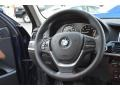 2016 BMW X3 Saddle Brown Interior Steering Wheel Photo