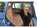 2016 BMW X3 Saddle Brown Interior Rear Seat Photo