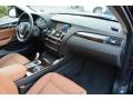Saddle Brown Dashboard Photo for 2016 BMW X3 #107444833