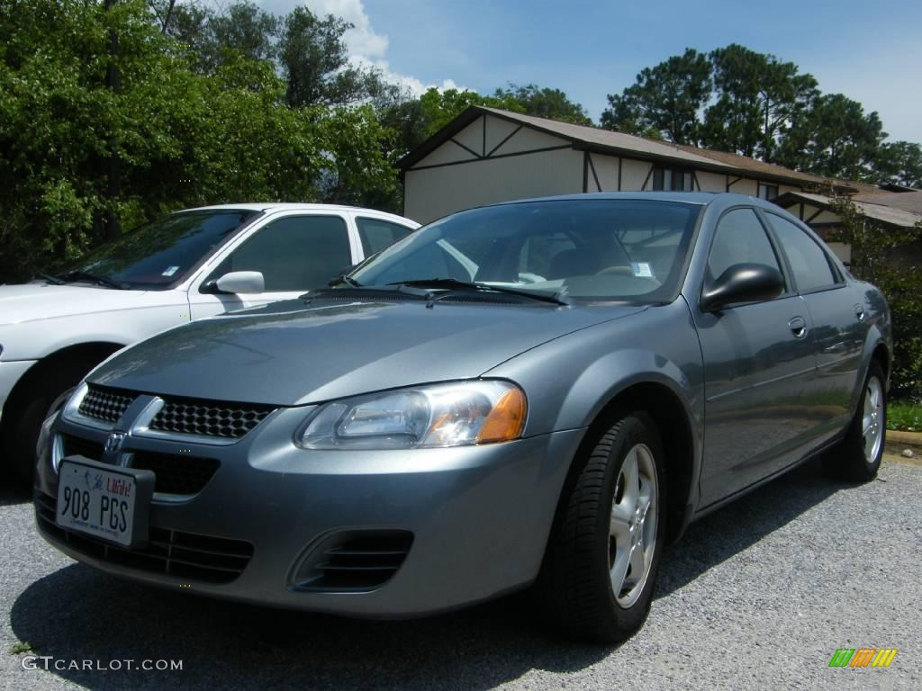 2006 silver steel metallic dodge stratus sxt sedan. Black Bedroom Furniture Sets. Home Design Ideas