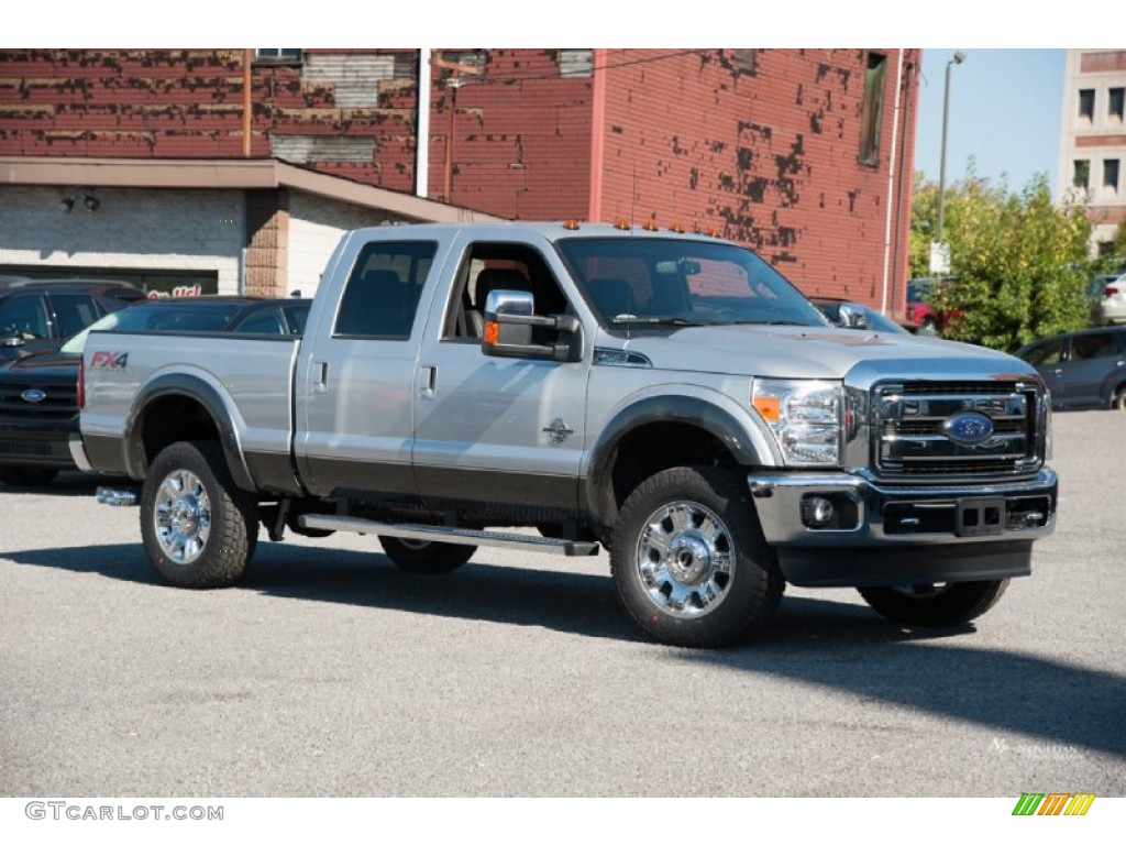 2016 ingot silver metallic ford f250 super duty lariat crew cab 4x4 107428732. Black Bedroom Furniture Sets. Home Design Ideas