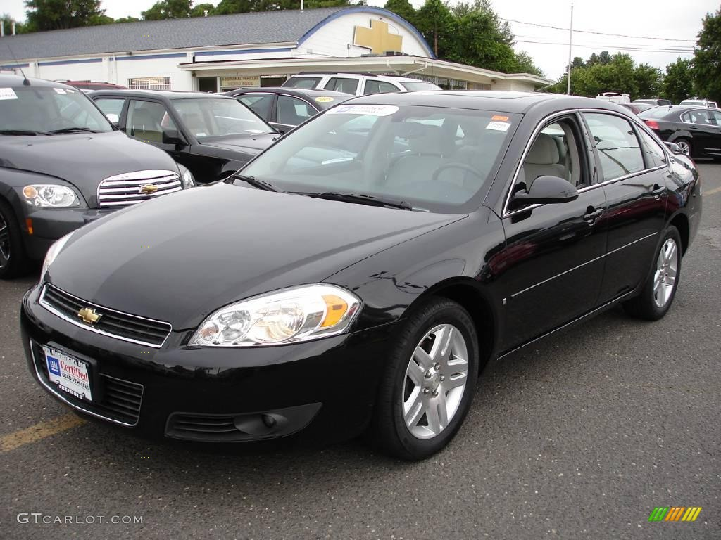 2006 Black Chevrolet Impala Lt 10729801 Car Color Galleries