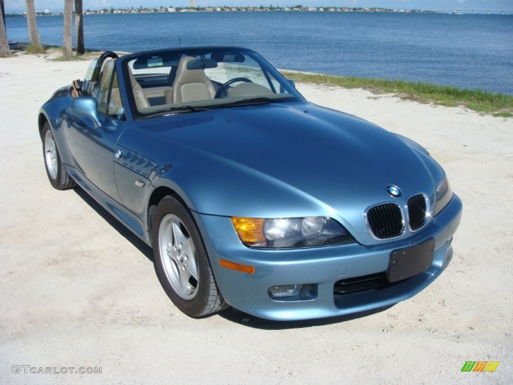 1999 Atlanta Blue Metallic Bmw Z3 2 3 Roadster 107428485