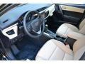 Ivory 2016 Toyota Corolla Interiors