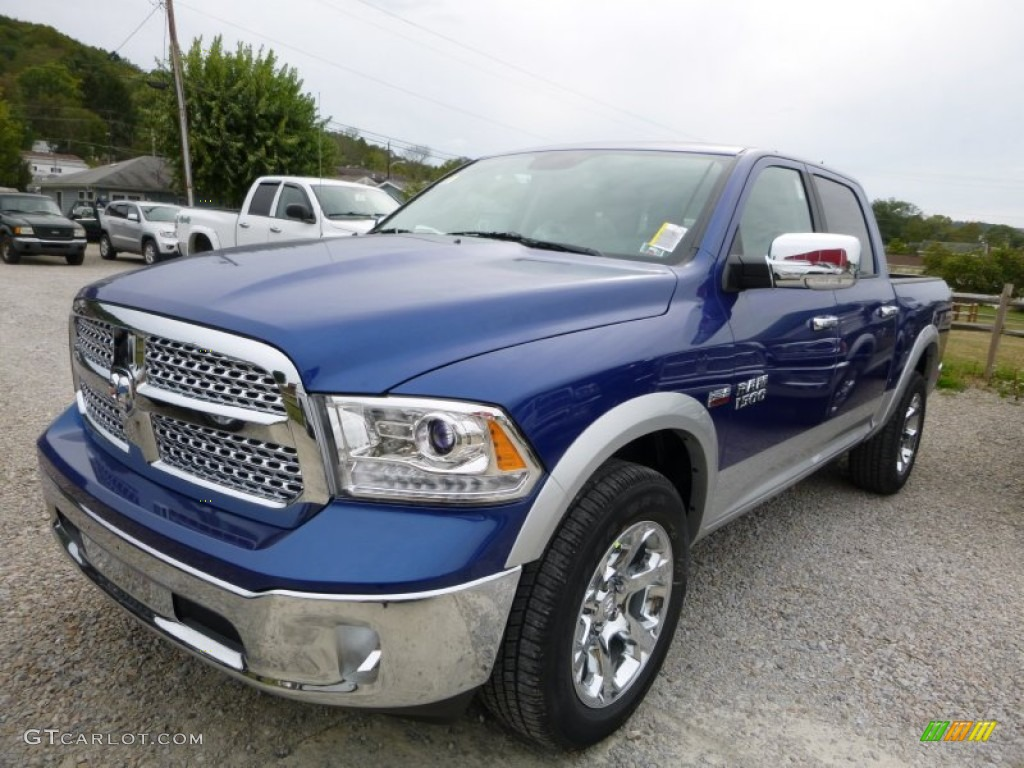 2016 blue streak pearl ram 1500 laramie crew cab 4x4 107460755 car color galleries. Black Bedroom Furniture Sets. Home Design Ideas
