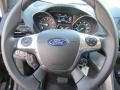 Charcoal Black Steering Wheel Photo for 2016 Ford Escape #107486247