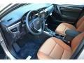Amber 2016 Toyota Corolla Interiors