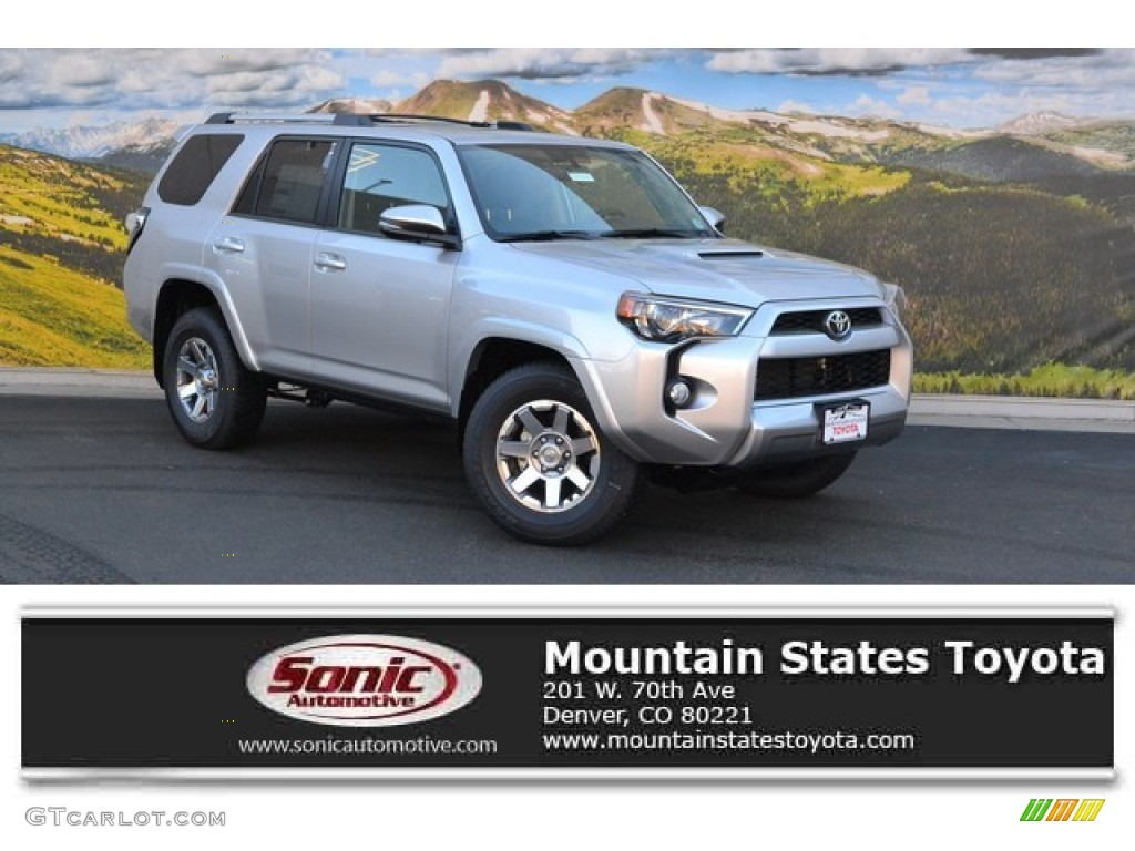 2016 Toyota Tacoma Trd Sport Silver