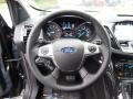 Charcoal Black Steering Wheel Photo for 2016 Ford Escape #107514080