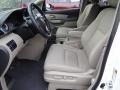 Beige 2014 Honda Odyssey Interiors
