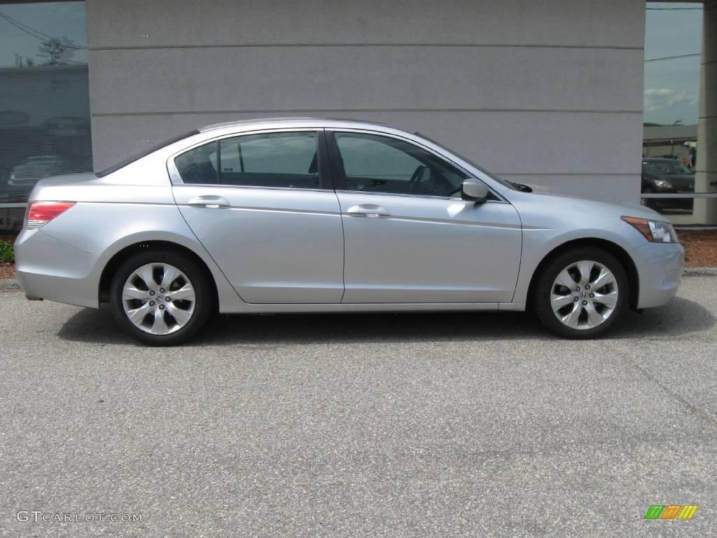 2010 Honda Accord Sedan Specs U003eu003e 2008 Alabaster Silver Metallic Honda Accord  EX Sedan #