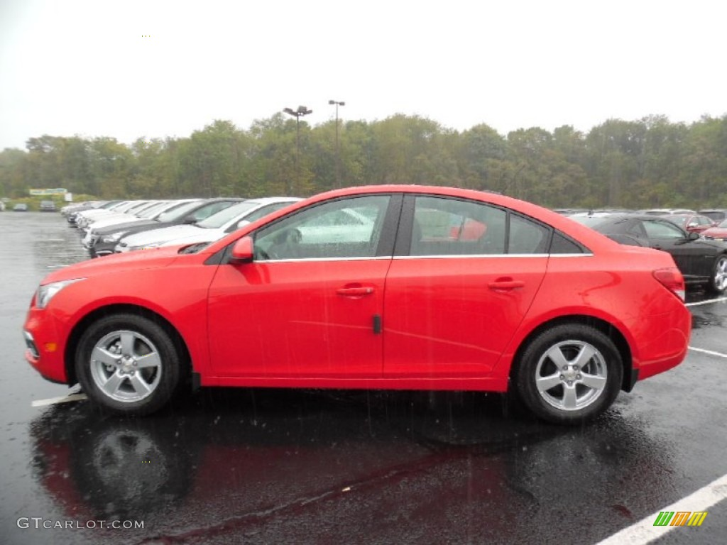 2016 Cruze Limited LT - Red Hot / Jet Black photo #8