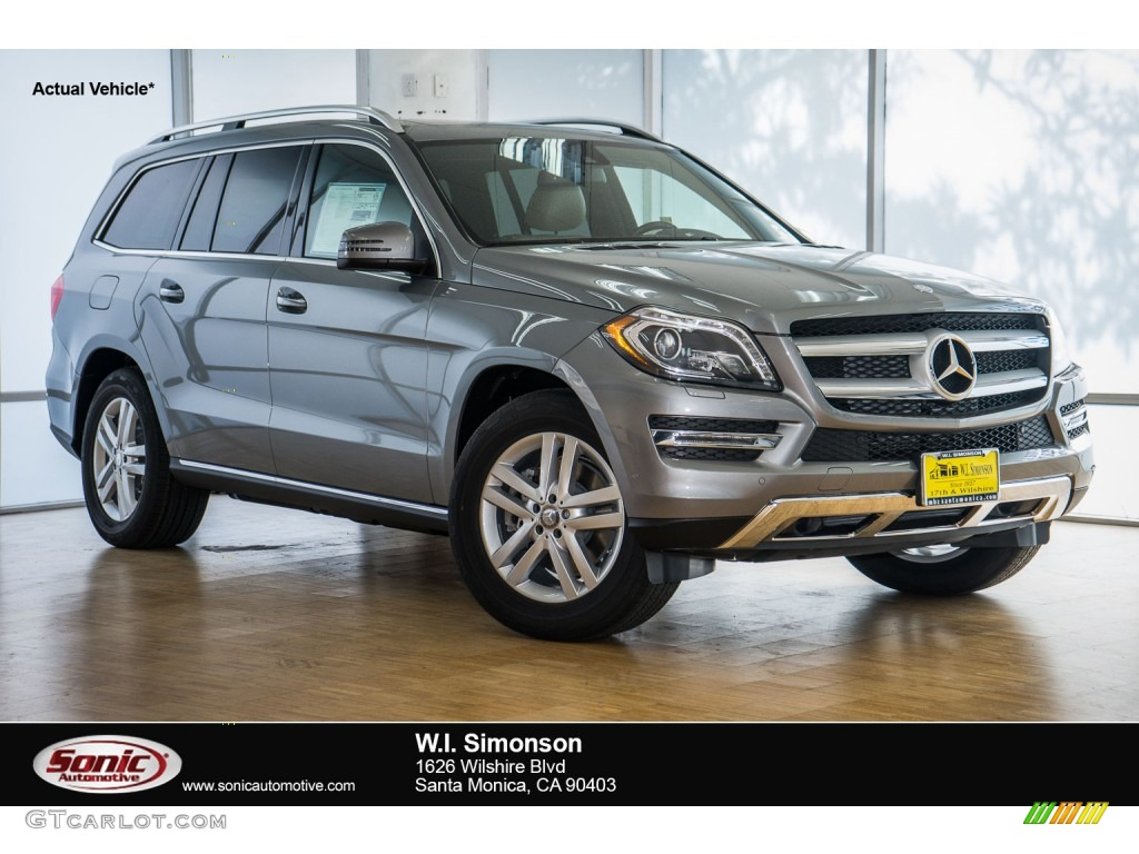 2016 palladium silver metallic mercedes benz gl 350 for Mercedes benz gl 350