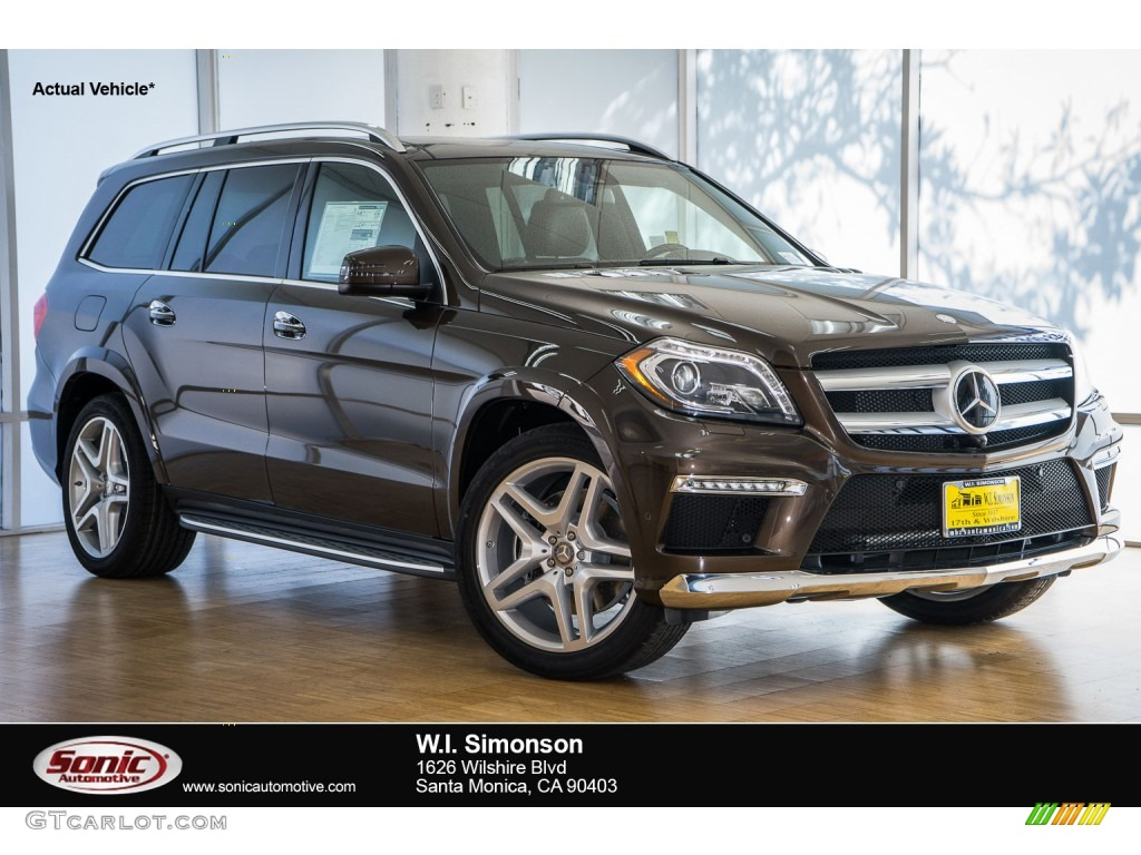 2016 dakota brown metallic mercedes benz gl 550 4matic for Mercedes benz 550 gl