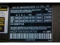 2016 GL 550 4Matic Dakota Brown Metallic Color Code 796