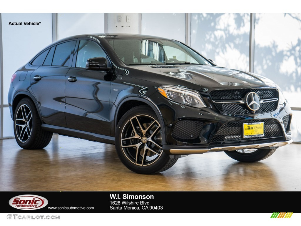 2016 black mercedes benz gle 450 amg 4matic coupe for Mercedes benz gle 450