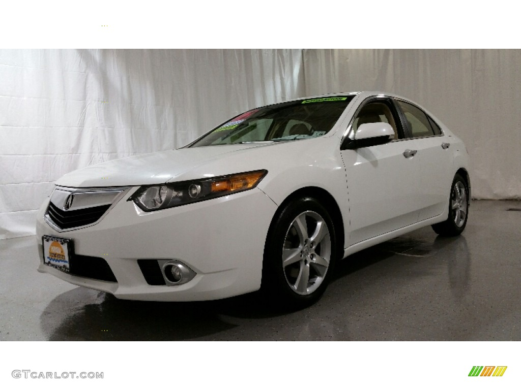 2012 bellanova white pearl acura tsx technology sedan. Black Bedroom Furniture Sets. Home Design Ideas