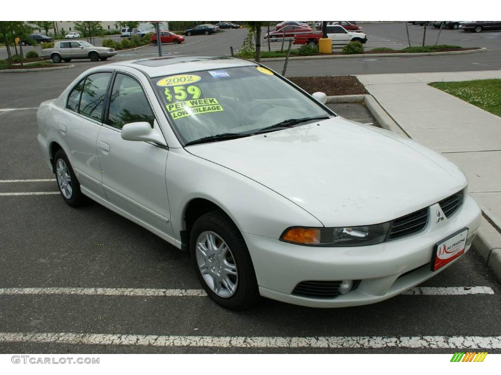 2002 dover white pearl mitsubishi galant es 10734305 photo 3 gtcarlot com car color galleries gtcarlot com