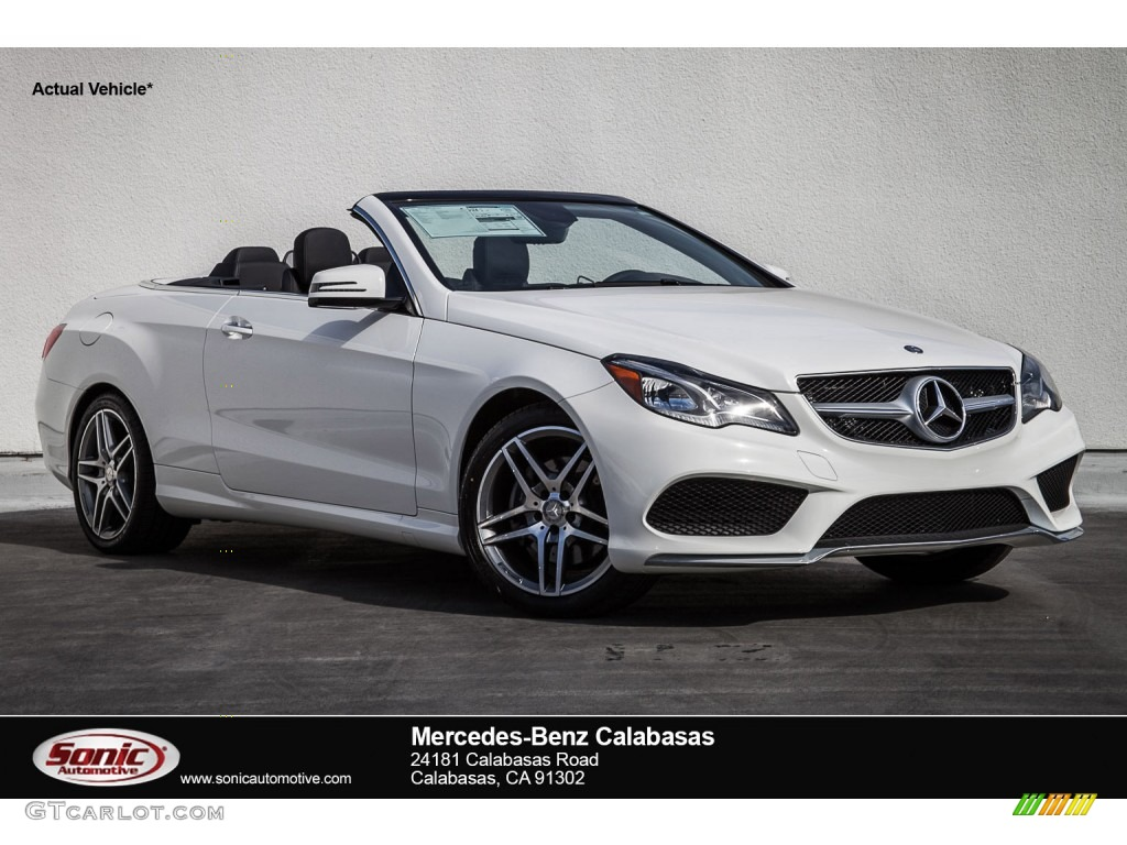 2016 polar white mercedes benz e 400 cabriolet 107533414 for Mercedes benz polar white paint