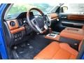 1794 Black/Brown Prime Interior Photo for 2016 Toyota Tundra #107564325
