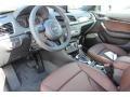 Chestnut Brown 2016 Audi Q3 Interiors