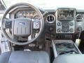 2016 Ford F250 Super Duty Black Interior Dashboard Photo