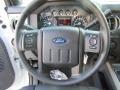 2016 Ford F250 Super Duty Black Interior Steering Wheel Photo