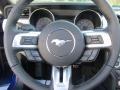 2016 Deep Impact Blue Metallic Ford Mustang EcoBoost Premium Convertible  photo #26