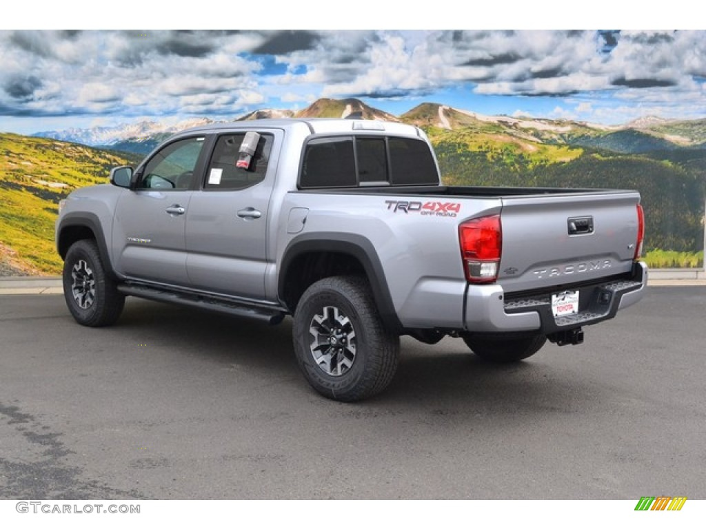 silver sky metallic 2016 toyota tacoma trd off road double cab 4x4 exterior photo 107578753. Black Bedroom Furniture Sets. Home Design Ideas