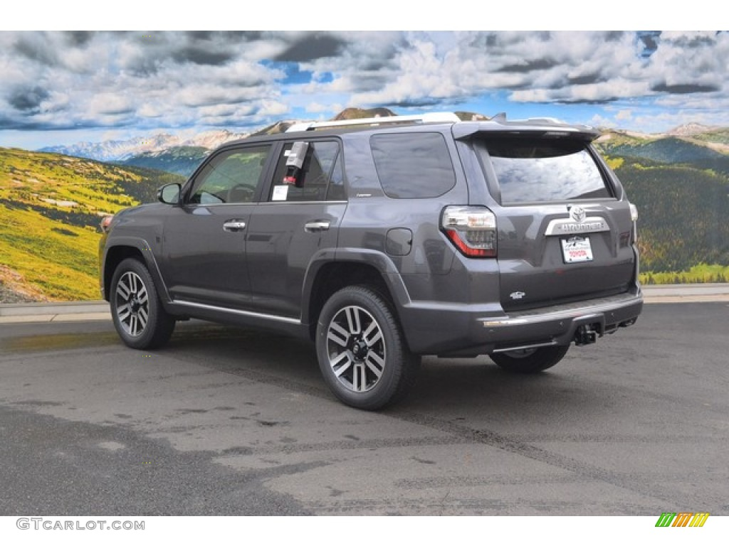 2016 magnetic gray metallic toyota 4runner limited 4x4 107569981 photo 3 car. Black Bedroom Furniture Sets. Home Design Ideas