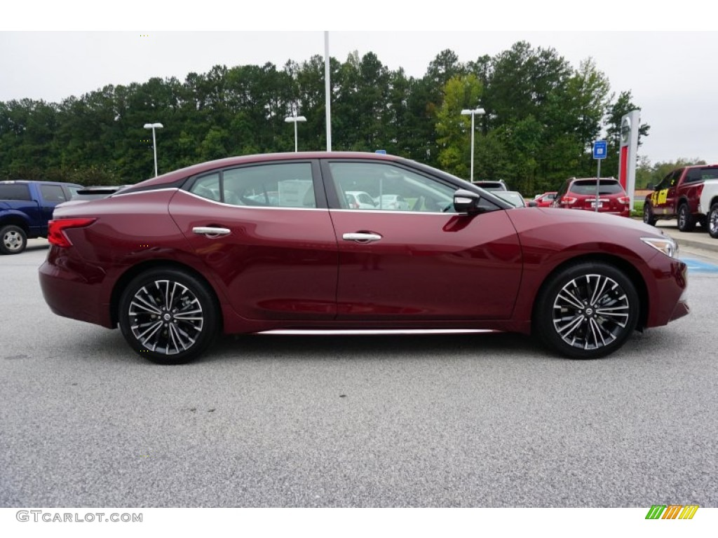 2016 Coulis Red Nissan Maxima Platinum 107570306 Photo 6