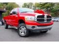 Flame Red 2006 Dodge Ram 2500 Gallery