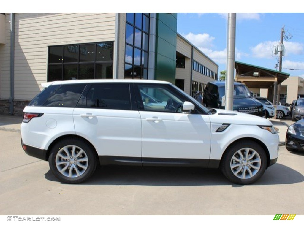 fuji white 2016 land rover range rover sport hse exterior. Black Bedroom Furniture Sets. Home Design Ideas
