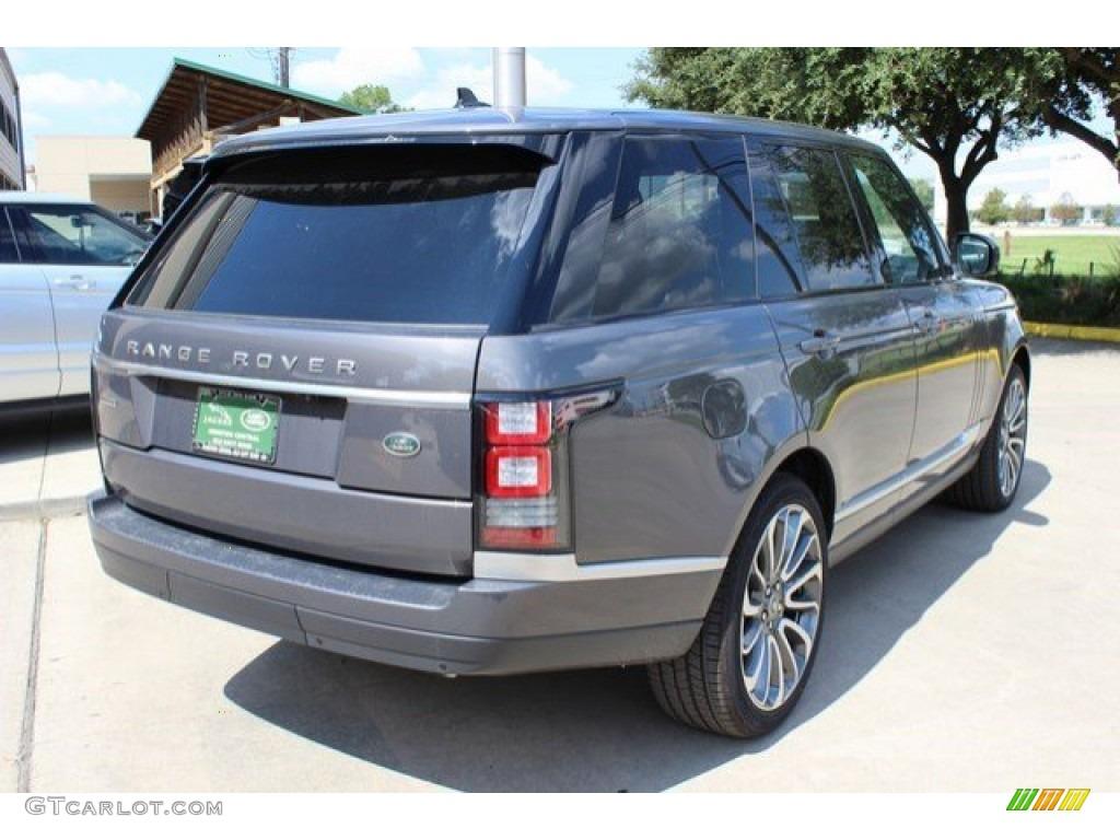 2016 Waitomo Grey Metallic Land Rover Range Rover