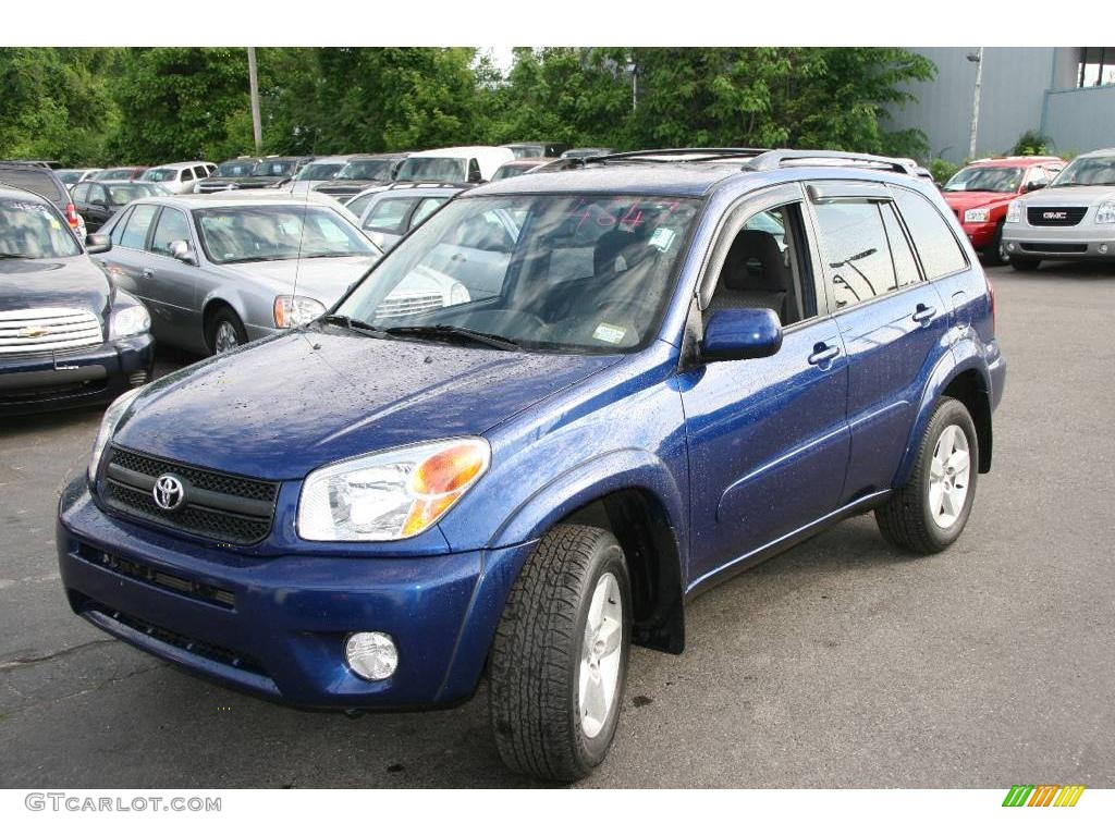 2005 spectra blue mica toyota rav4 4wd 10737960. Black Bedroom Furniture Sets. Home Design Ideas