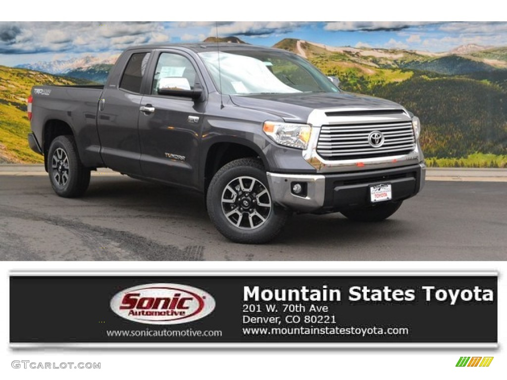2016 Tundra Limited Double Cab 4x4 - Magnetic Gray Metallic / Black photo #1