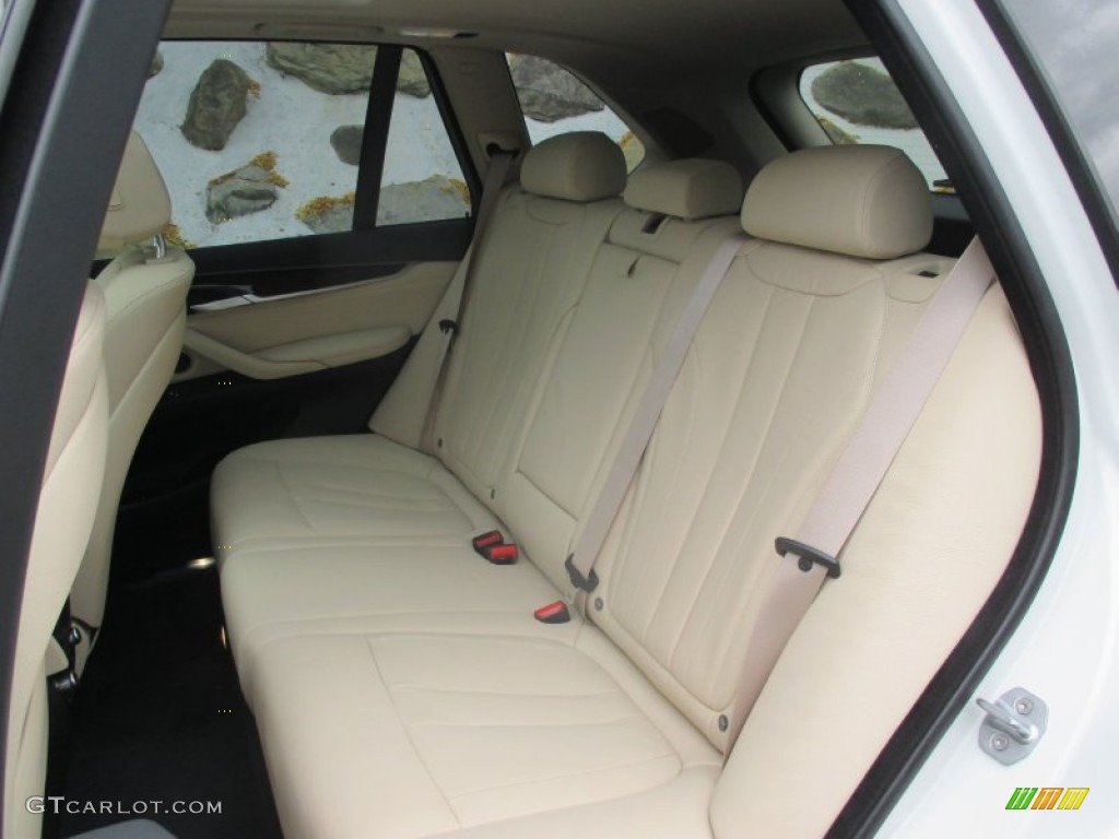 Canberra Beige Black Interior 2016 Bmw X5 Xdrive40e Photo