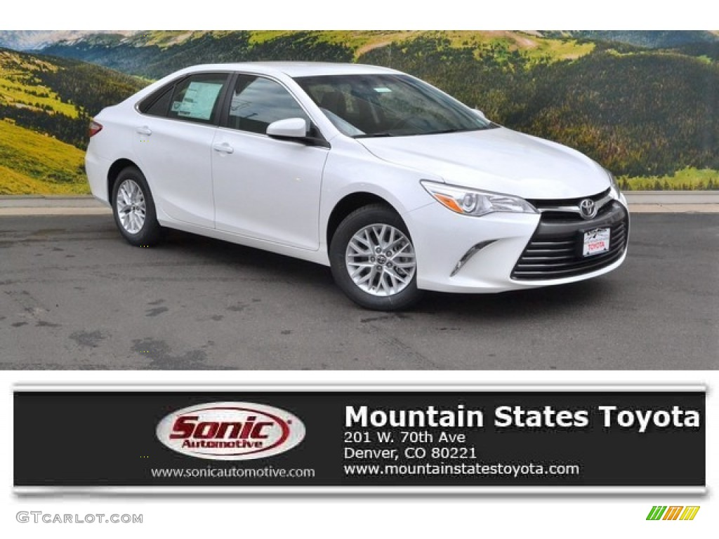 toyota camry 2016 le. 2016 camry le super white black photo 1 toyota le