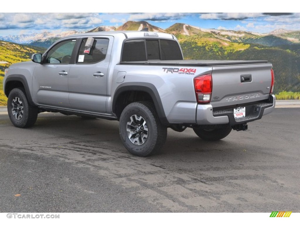 Silver Sky Metallic 2016 Toyota Tacoma Trd Off Road Double Cab 4x4 Exterior Photo 107615962