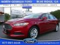 2016 Ruby Red Metallic Ford Fusion SE #107602925